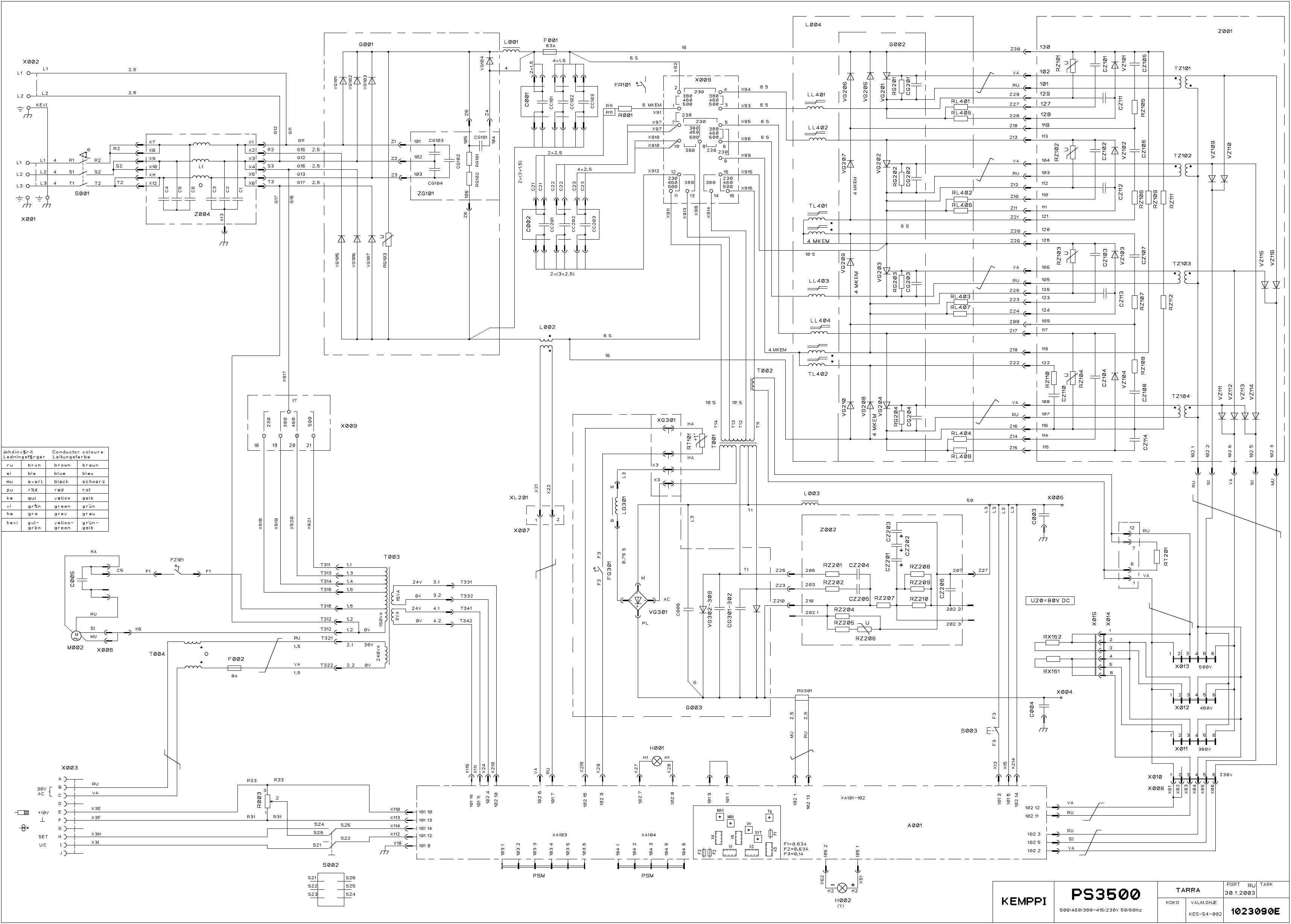 Схема сварочного аппарата kemppi фото 744